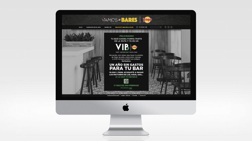 Zumos Pago - Bares VIB