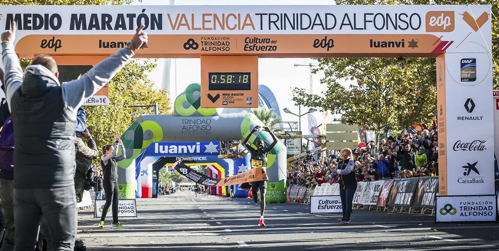 Medio Maratón València 2018-10-31