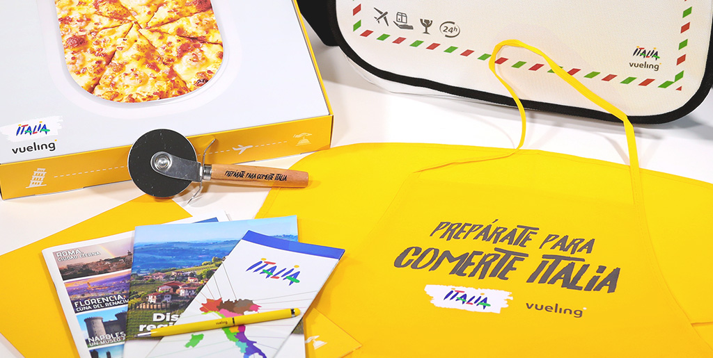 Vueling We Love Pizza - ENIT