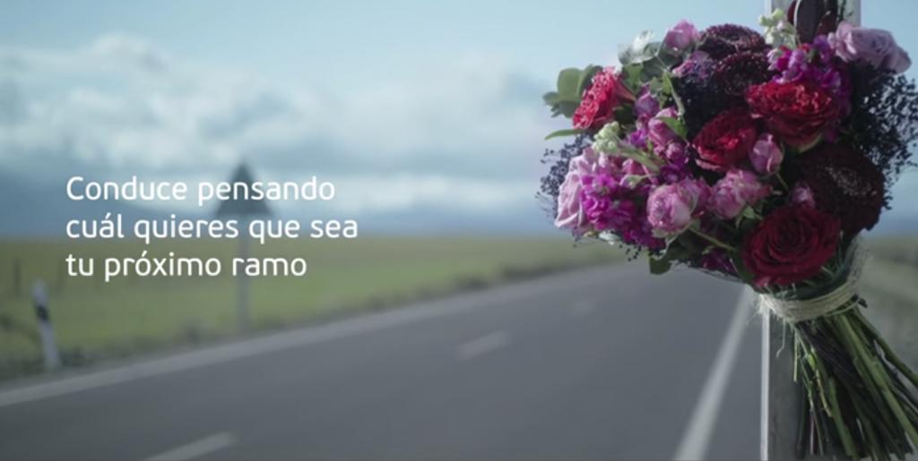 'Ramos de concienciación de accidentes', #PonleFreno