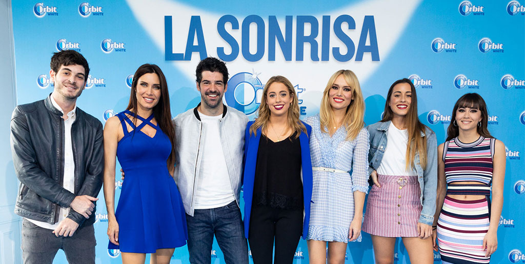 AITANA, PAULA GONU, PATRICIA CONDE, PILAR RUBIO, MIGUEL ÁNGEL MUÑOZ Y ANTÓN LOFER YA HAN ELEGIDO LA #SONRISAORBITWHITE AND THE WHITEST SMILE IS…