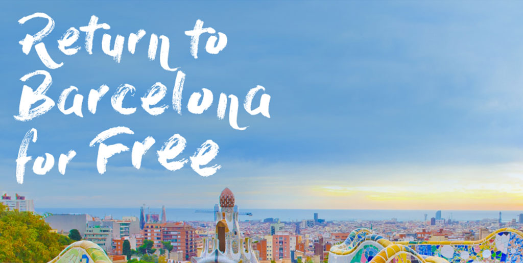 Return to Barcelona For Free: nuestra última campaña para Aena