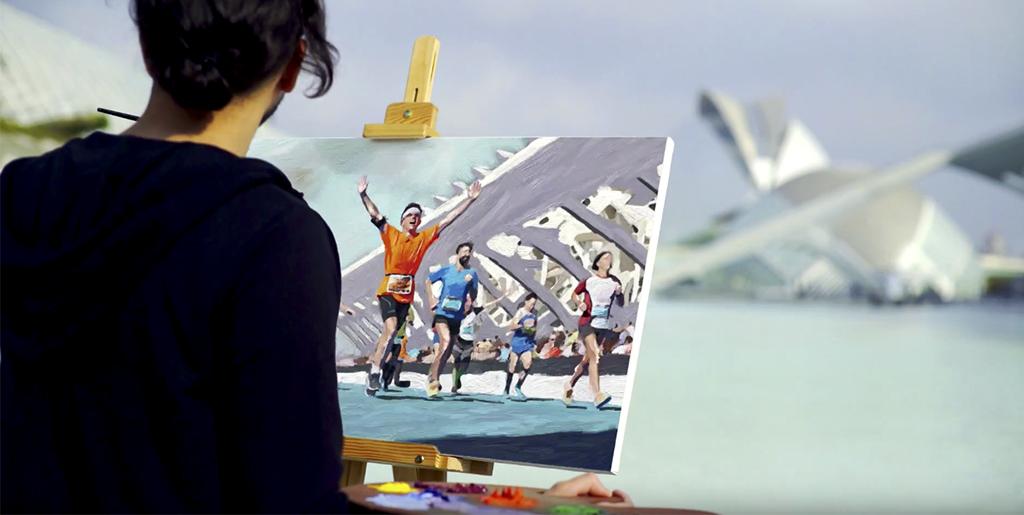 Sorolla da vida a la nueva campaña del Maratón Valencia Trinidad Alfonso EDP