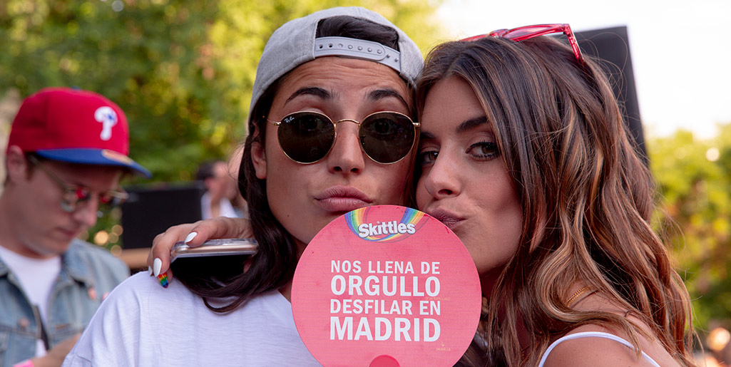 Juntos hemos llenado Madrid de #SkittlesOrgullo