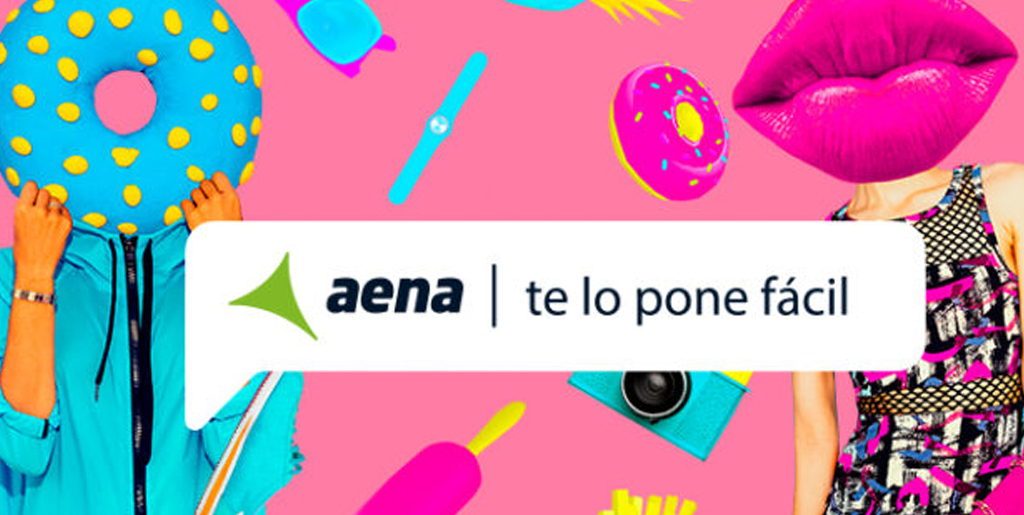 Lanzamos con AENA una campaña de verano muy crazy.