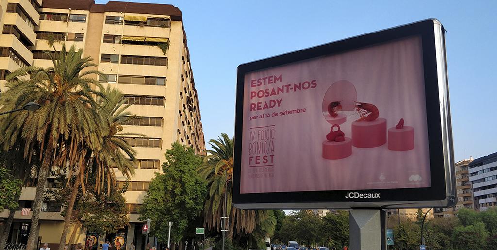 TODO READY PARA EL BONIC/A FEST EN VALÈNCIA
