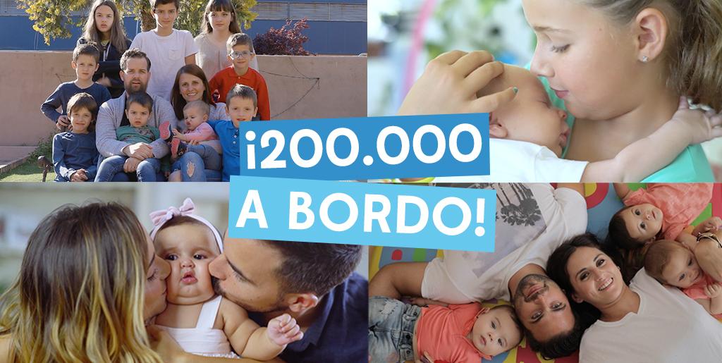 Bebé a Bordo llega a los 200K