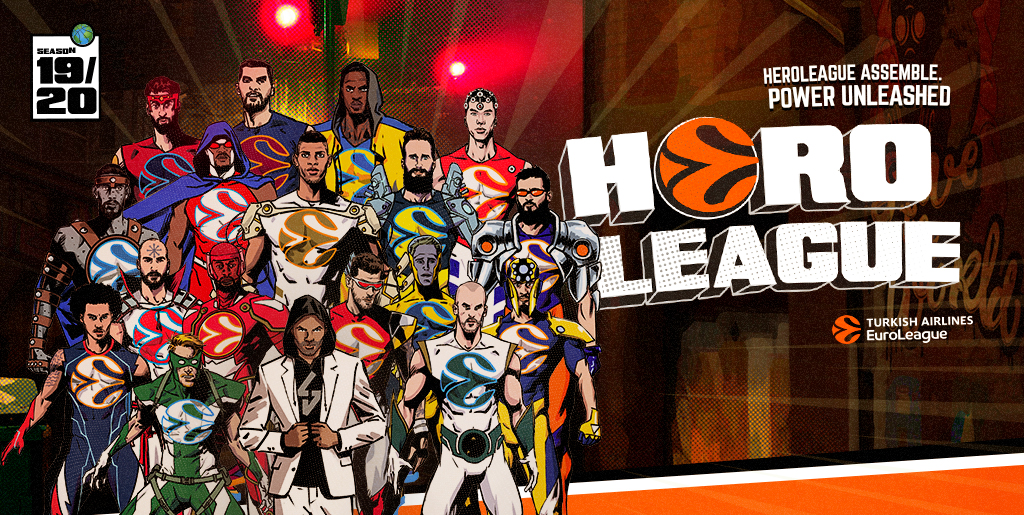Creamos la serie de animación HeroLeague para Euroleague Basketball