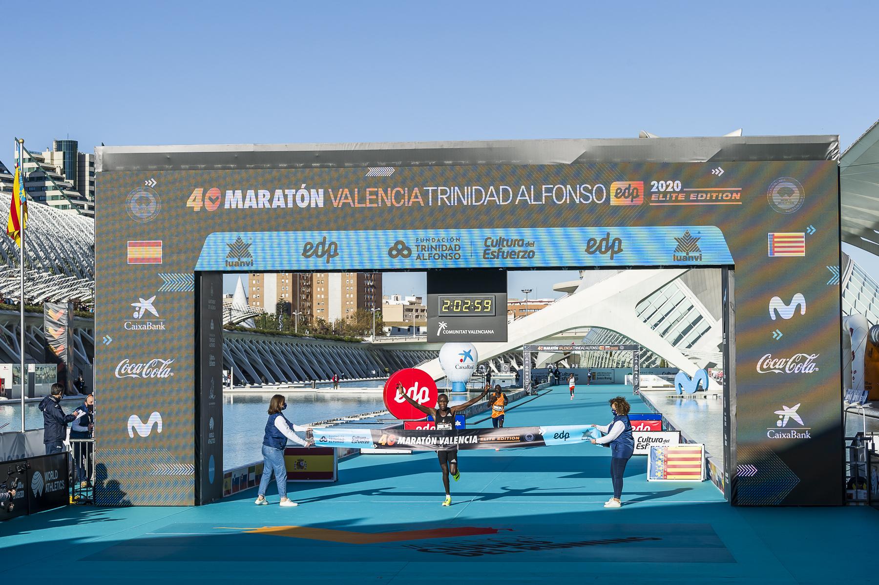 Maratón y Media Maratón Valencia 2020